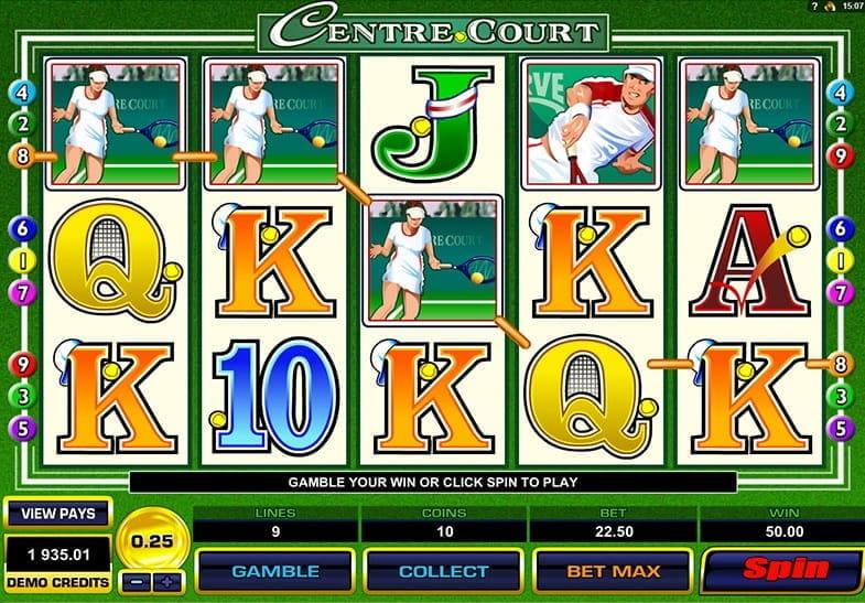 Demo Gratis dari Slot Center Court