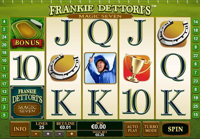 Mainkan Magic Seven Frankie Dettori secara Gratis