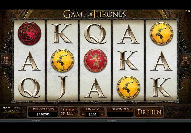 Spiele Game Of Thrones 15 Lines - Video Slots Online