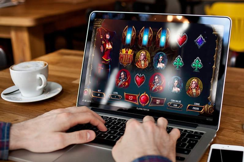 Beste Online Casinos x Casinospiele online auf dem Laptop spielen.