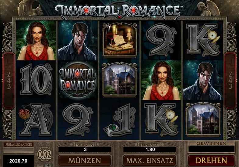 Spielen Sie Immortal Romance Kostenlos Im Demo Mode Von Microgaming