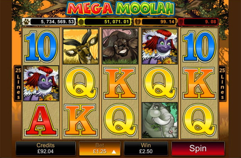 Spiele Major Moolah - Video Slots Online