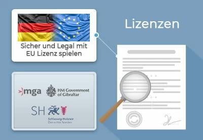 Beste Online Casinos   Sicher und legal spielen dank EU-Lizenzen.
