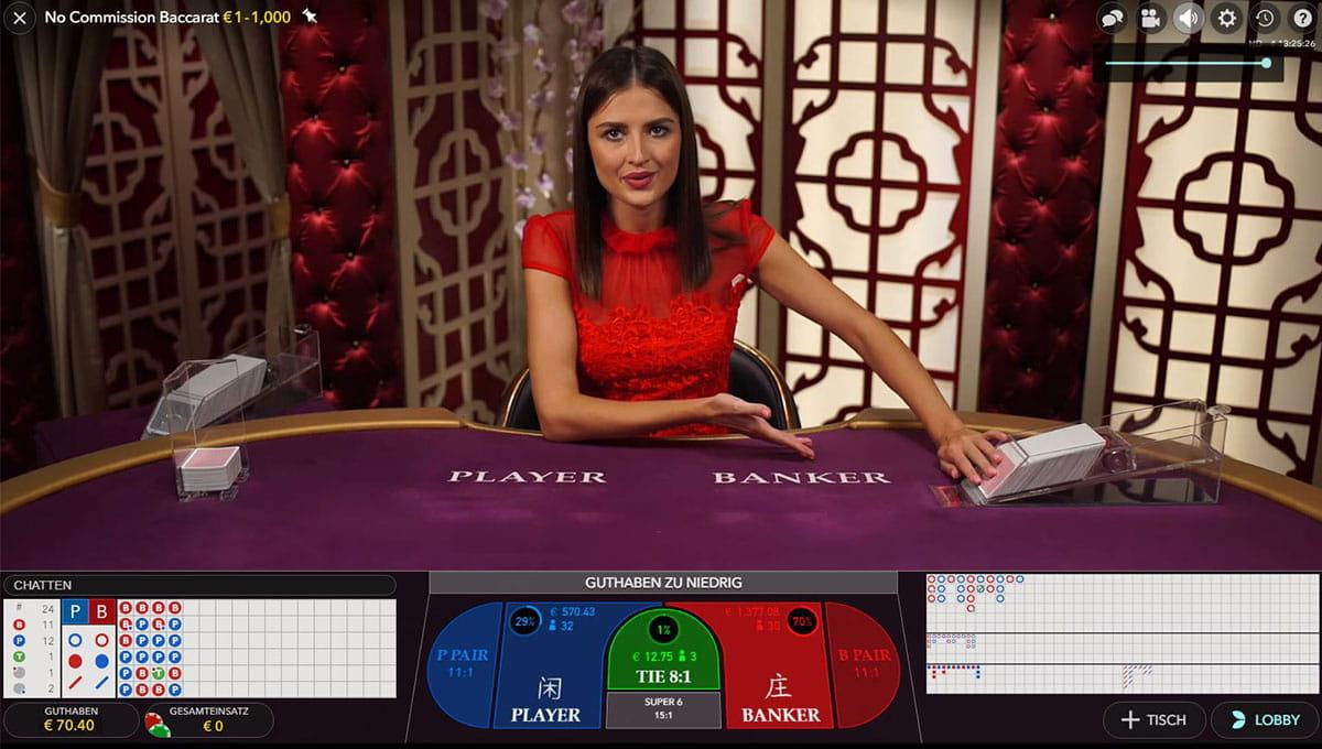 Online random roulette