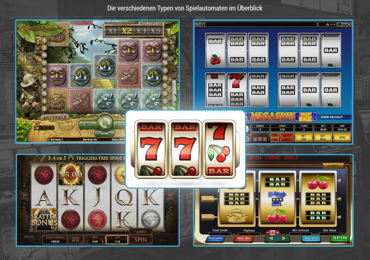 Online Spielautomaten - Die Beliebtesten Echtgeld Video Slots