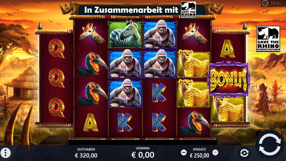 Spiele Rumble Rhino - Video Slots Online