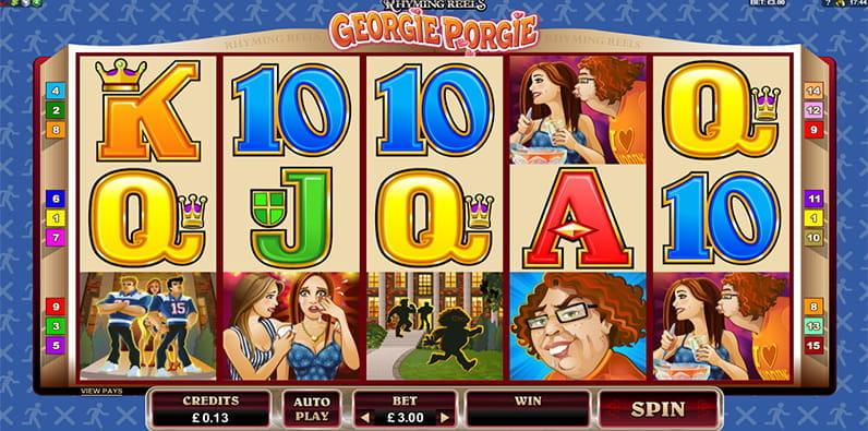 Spiele Georgie Porgie - Video Slots Online