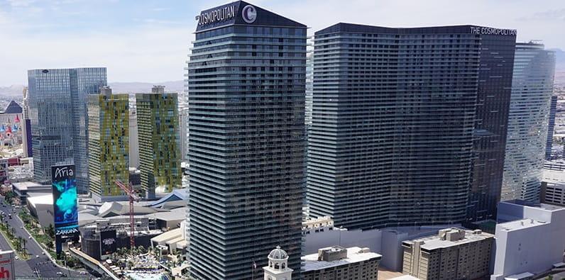 Der Cosmopolitan der High Roller Casinos in Las Vegas