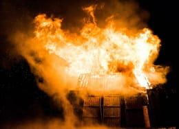 Das brennende Hilton Arson