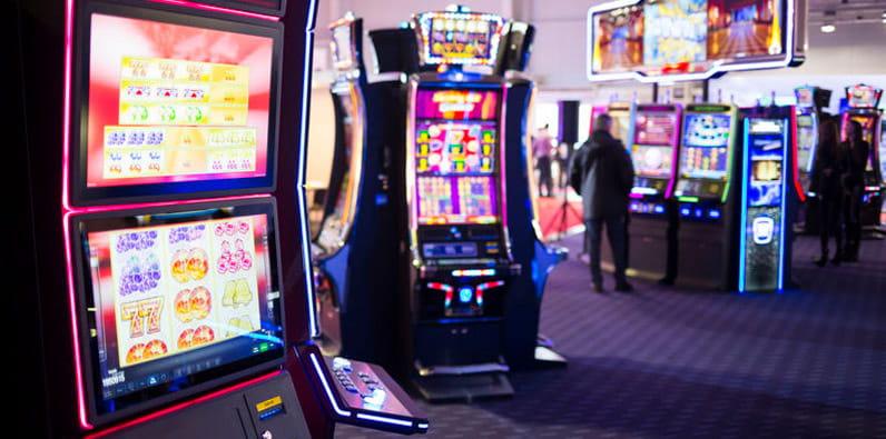 Die Ausstattung für ein Casino