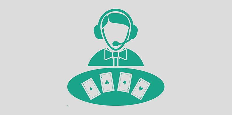 Kasino iPad Dealer Langsung