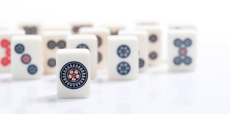 Permainan Mahjong di Cina